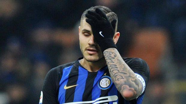 Mauro Icardi tengah bermasalah dengan Inter Milan.