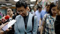 Pemred Rappler Filipina Ditangkap Polisi di Manila