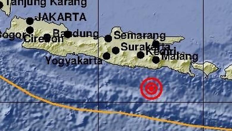 Gempa 5,9 M di Malang Terasa hingga Bali
