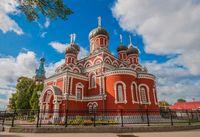 Bangunan di Borisov juga ada yang bergaya arsitektur Rusia (iStock)