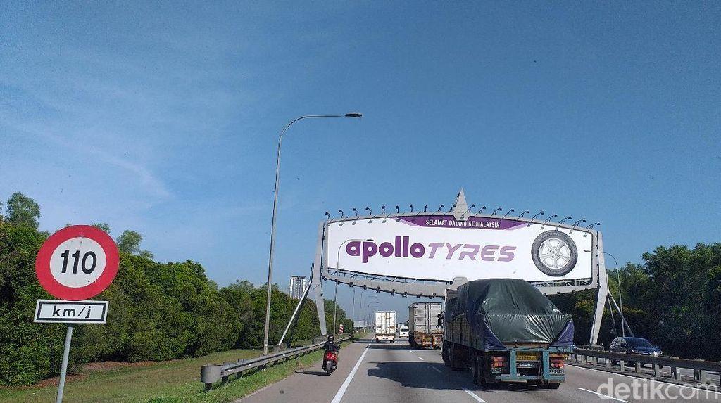 Video: Gini Nih di Malaysia saat Motor Gratis Masuk Tol