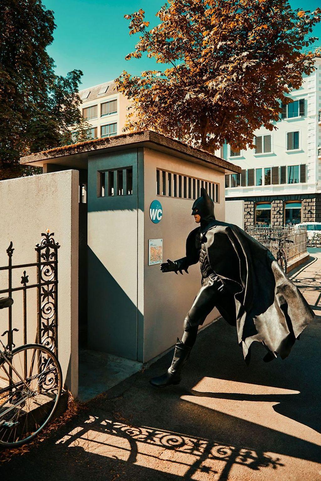 Oleh Sebastian, karyanya ini diberi tajuk Daily Batman. Foto:Sebastian Magnani