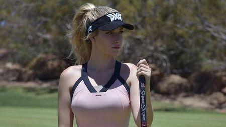 Foto: Pesona Atlet Golf yang Dijuluki Pegolf Terseksi di Dunia