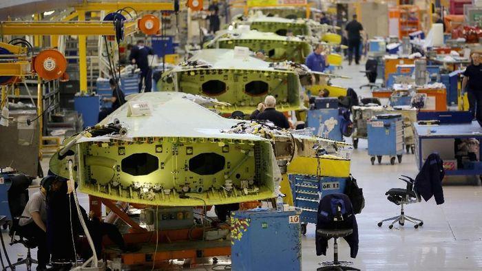 Pabrik Pesawat Airbus/Foto: Getty Images