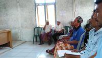 Suasana musyawarah masyarakat Desa Komodo (dok Istimewa)