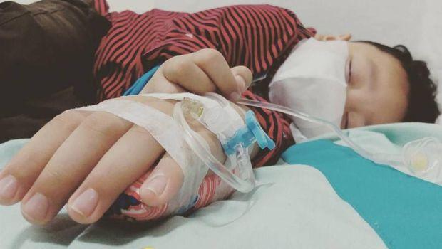 Saat Bima dirawat di rumah sakit.