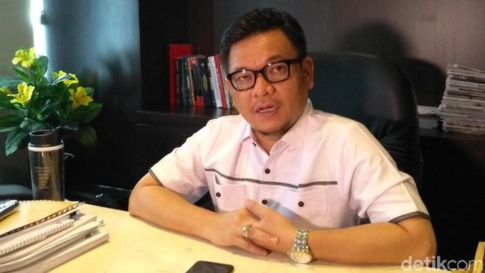 Juru bicara TKN Jokowi-Maruf, Ace Hasan Syadzily. (Azizah/detikcom)