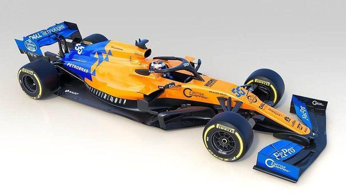 Mobil baru McLaren, MCL34, untuk F1 2019 (Foto: Instagram @mclaren)