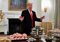 Punya Pola Makan Tak Sehat, Donald Trump Terancam Obesitas