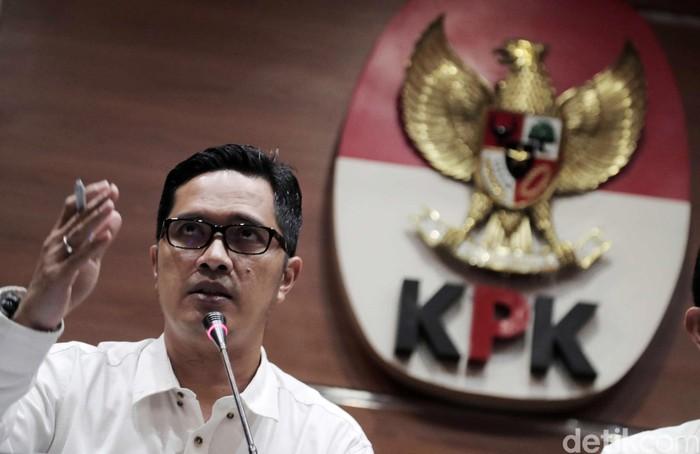 Kabiro Humas KPK Febri Diansyah (Foto: Pradita Utama/detikcom)