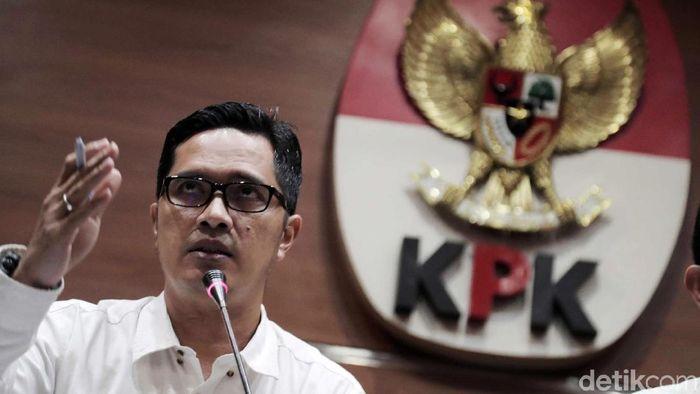 Kabiro Humas KPK Febri Diansyah/Foto: Pradita Utama