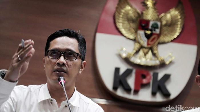 Kabiro Humas KPK Febri Diansyah (Pradita Utama/detikcom)