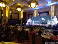 Menteri Pariwisata Arief Yahya saat memberikan paparan (Usman hadi/detikTravel)