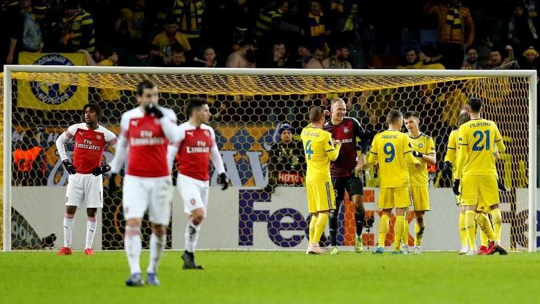 Arsenal dikalahkan Bate (Anton Vaganov/REUTERS)