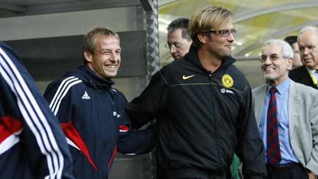 Munchen memilih Klinsmann pada 2008, sedangkan Klopp ke Dortmund.