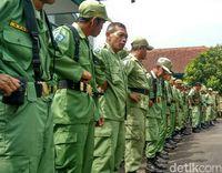 Hansip Gaek Diterjunkan Kawal Pemilu 2019 di Ciamis