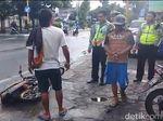 Video: Lagi-lagi Ada yang Ngamuk Ditilang, Motor Jadi Sasaran