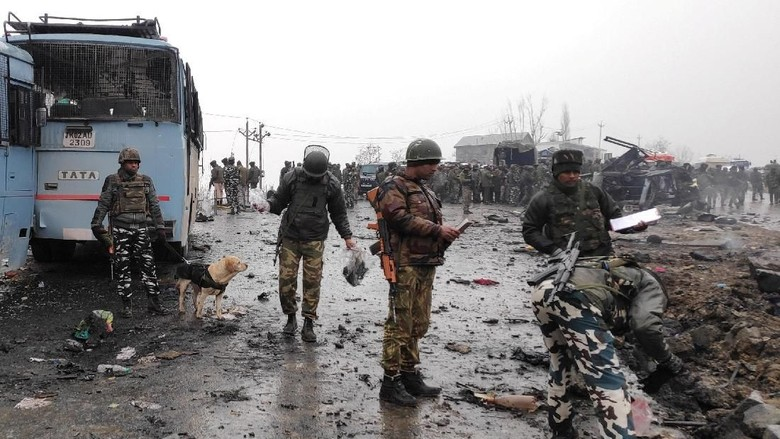 5 Paramiliter Tewas dalam Serangan Kelompok Militan di India