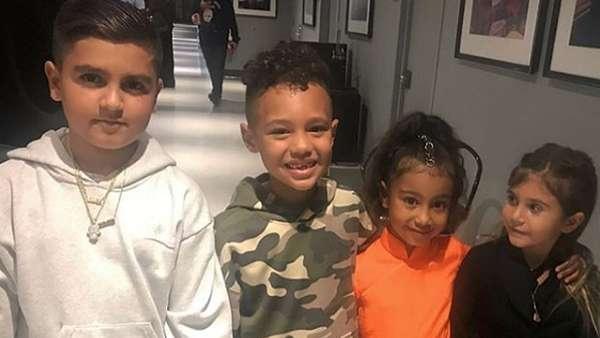 Siapakah Bocah Tujuh Tahun yang Beri Putri Kim Kardashian Kalung?