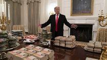 5 Kebiasaan Makan Aneh Donald Trump yang Jadi Sorotan