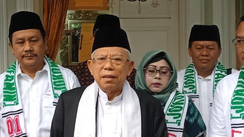 Pulpen Jokowi Disoal, Maruf: Kebanyakan Nonton Mission: Impossible