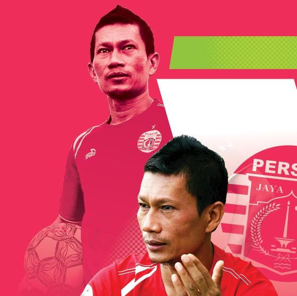 17 Tahun Ismed Sofyan Bersama Persija Jakarta