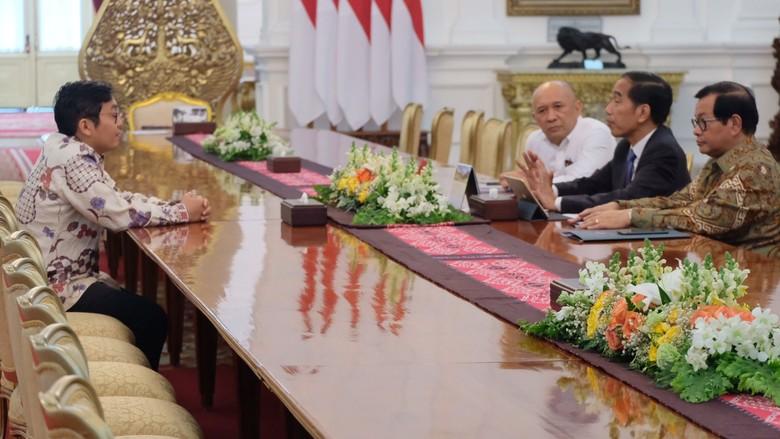Jokowi Tegaskan Tak Tersinggung Cuitan Presiden Baru CEO Bukalapak