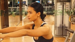 Bugarnya Ufa Sofura, Dancer Cantik yang Cinta Olahraga