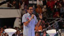 Kata Sandiaga soal Wacana Gelar Bapak Pembangunan Desa ke Jokowi