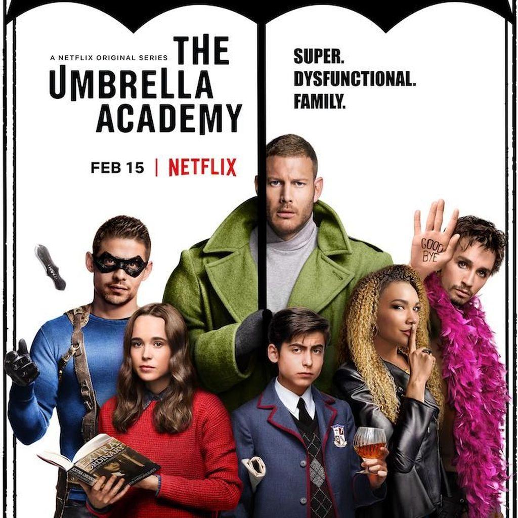 Kenalan dengan Keluarga Unik Berkekuatan Super di The Umbrella Academy