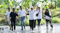 Lari di Kebun Cokelat bareng Menteri BUMN Rini Soemarno
