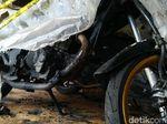 Nasib Motor yang Gosong Korban Teror Pembakaran di Semarang
