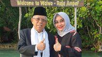 Momen Manis Kebersamaan Maruf Amin dengan Istri Tercinta