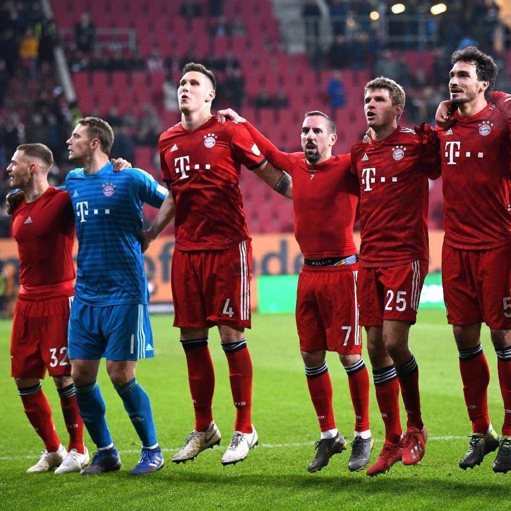 Comeback Susah Payah Bayern