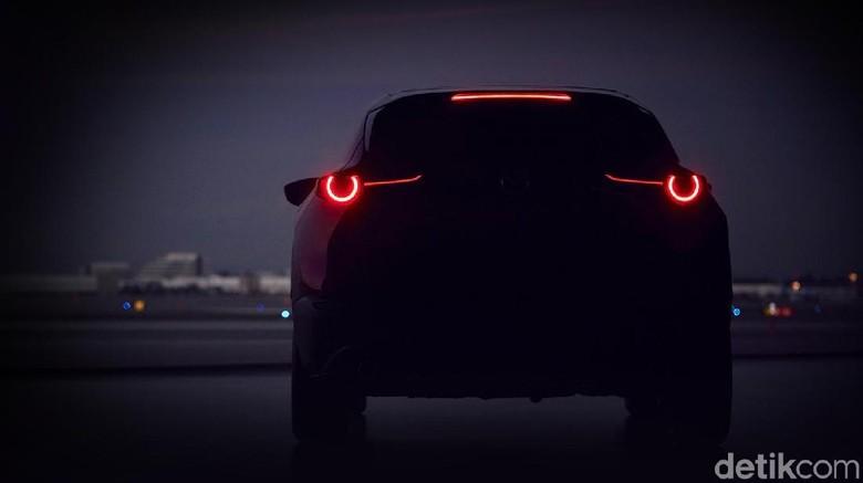 Teaser mobil SUV baru Mazda (Foto: Mazda)