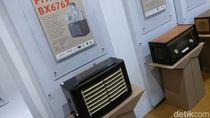 Penampakan Radio Antik yang Serupa Milik Soedirman dan Sukarno