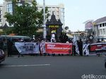 Ada Aksi Massa Dukung Ketum PA 212 di Mapolda Jateng