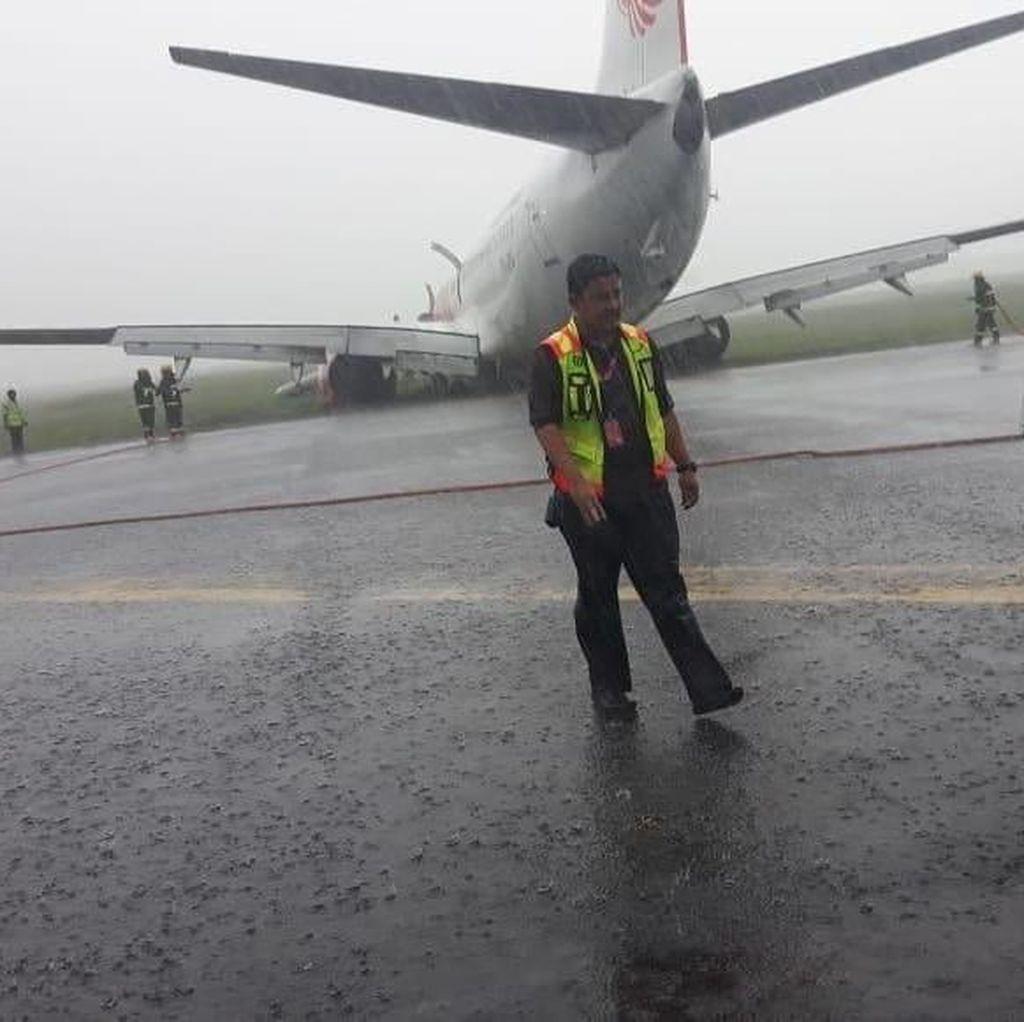 Pesawat Lion Air Tergelincir, Bandara Supadio Ditutup Hingga Besok Pagi