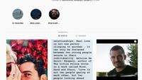 Unggahan yang sama juga dipamerkan oleh Orlando Bloom. Foto: Instagram Katy Perry