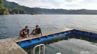 Tersedia juga kolam renang yang dapat dipakai untuk berenang hingga belajar surfing (dok Joni Surfcamp)