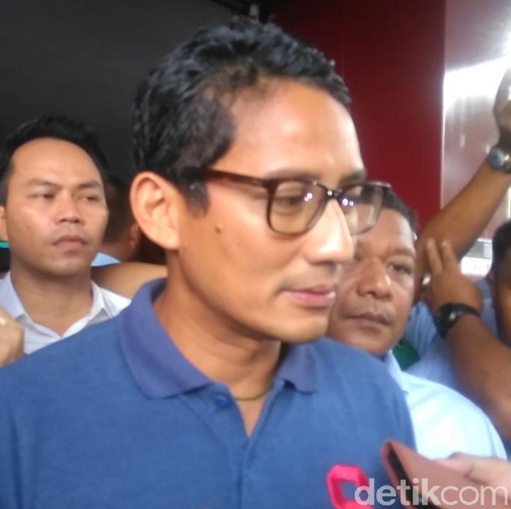 TKN Pamer Capaian 4 Tahun Jokowi, Sandi: Masih Banyak Kekurangan