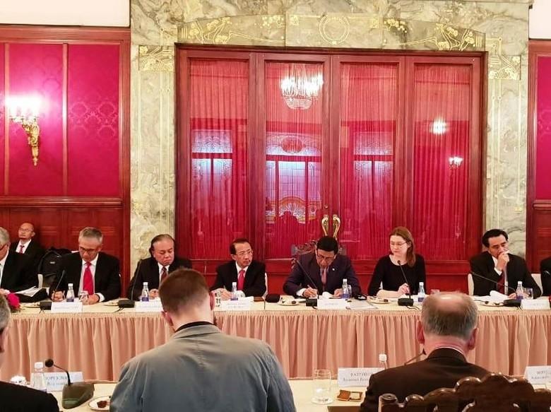 Indonesia-Rusia Tingkatkan Kerja Sama Dalam Pemberantasan Terorisme