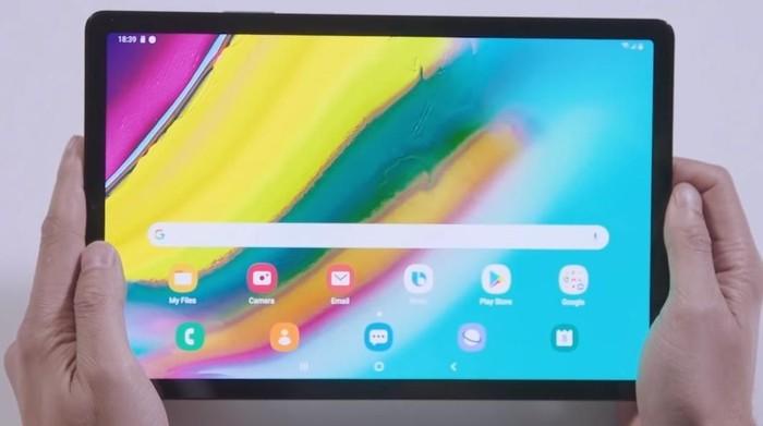 Galaxy Tab S5e, tablet anyar milik Samsung. Foto: Samsung