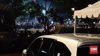 Terdengar Ledakan di Tempat Nobar Debat Parkir Timur Senayan