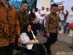 Berkursi Roda, Rachmawati Hadir Dukung Prabowo di Debat Capres Kedua