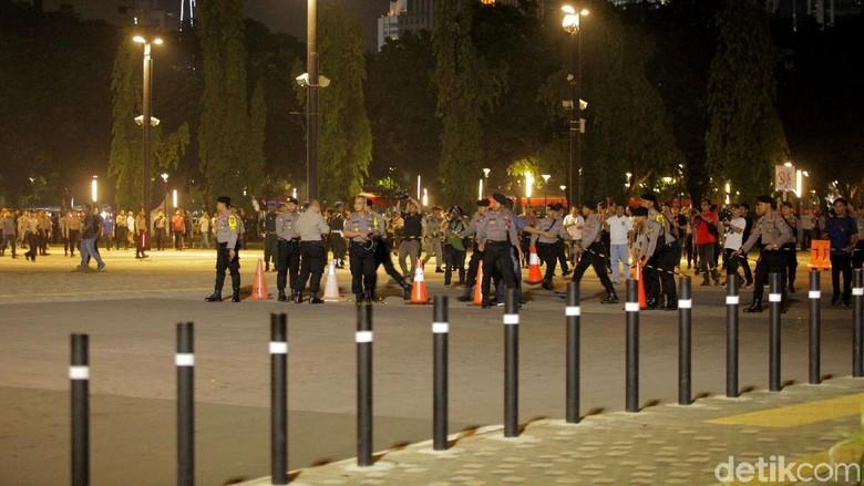 Polisi: Tak Ada Korban Ledakan di Senayan