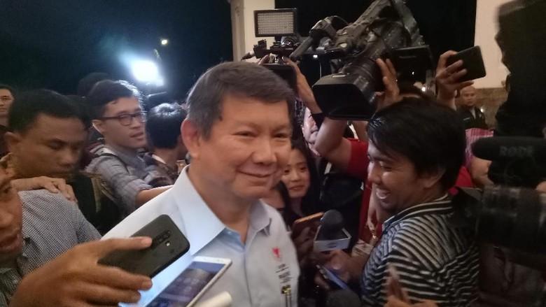 Hashim hingga Titiek Soeharto Tiba di Lokasi Debat Capres Kedua