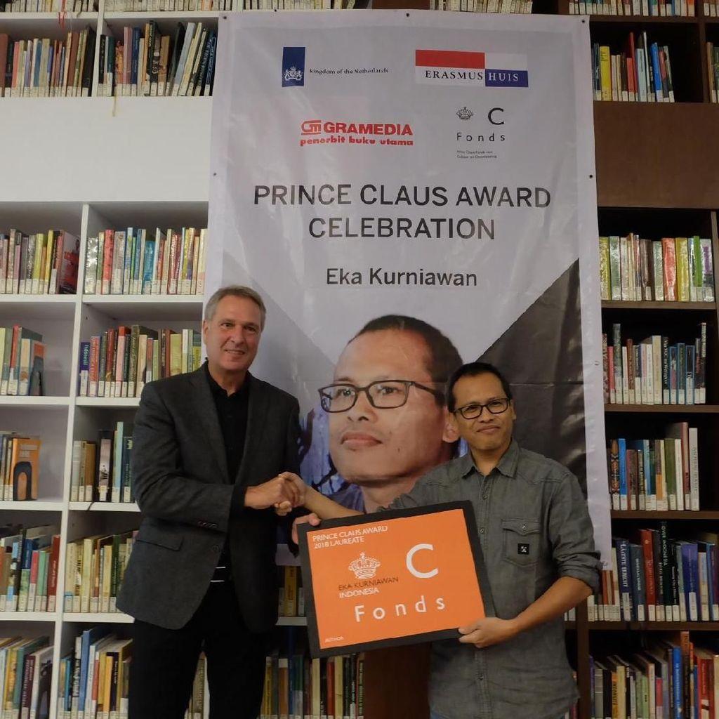 Terima Penghargaan Prince Claus dari Belanda, Eka Kurniawan Anggap Lebih Spesial