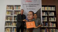 Award of the Prince Claus Award from the Netherlands, Eka Kurniawan in relation to more special