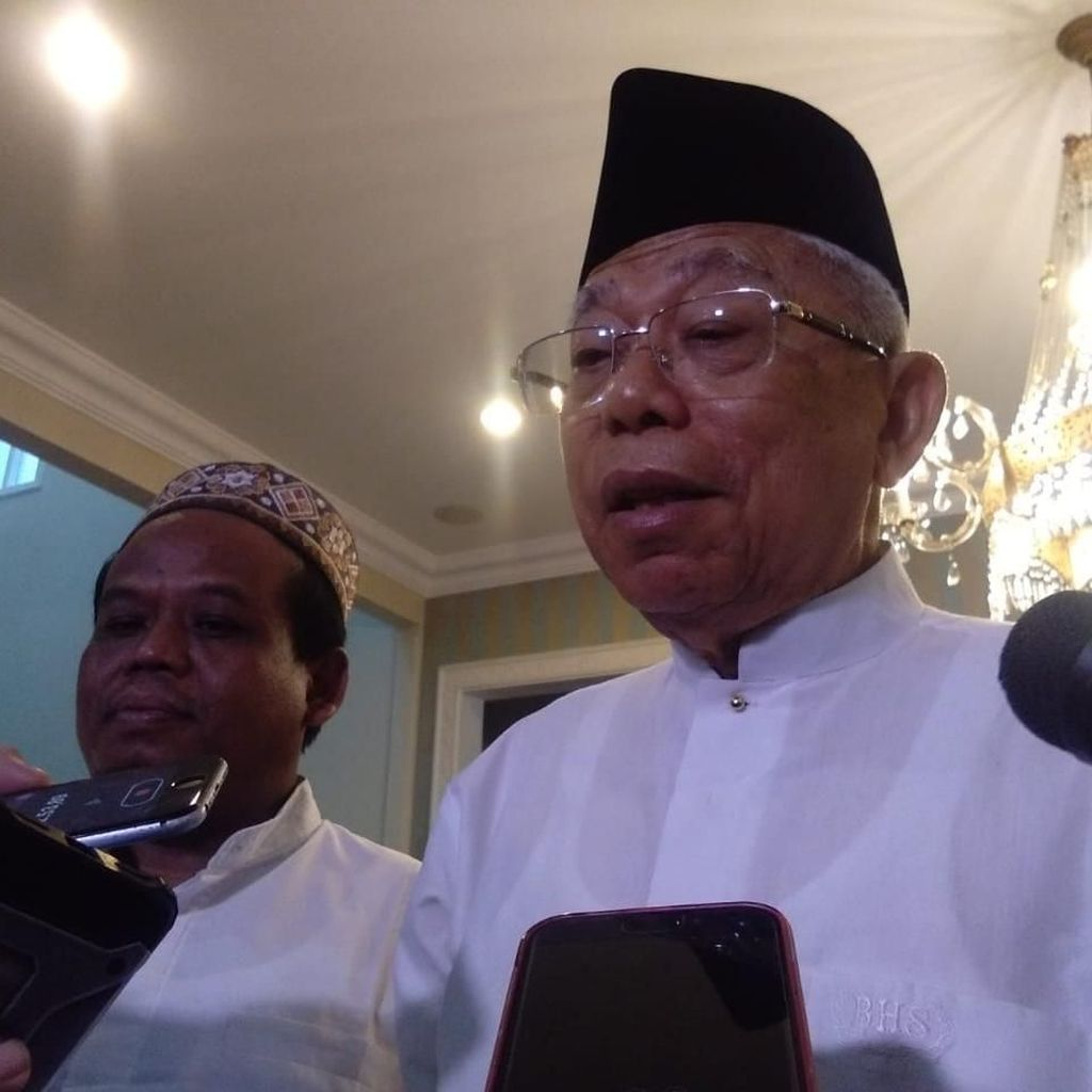 Maruf Amin: Pak Jokowi Tampil Luar Biasa